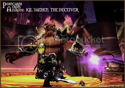 Postcards of Azeroth: Kil'jaeden - The Deceiver, by Rioriel Ail'thera