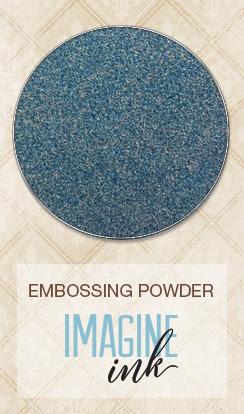 Embossing Powder - Stormy Skies