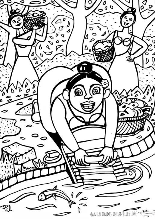 Dibujo De Mujeres Trabajadoras Para Colorear Actividades Para