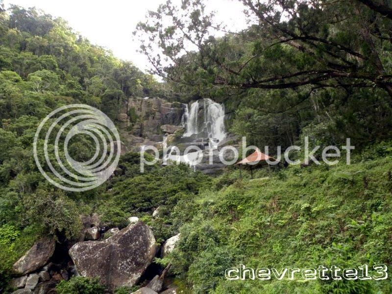 Le train de MANAKARA (4) - chutes d'eau