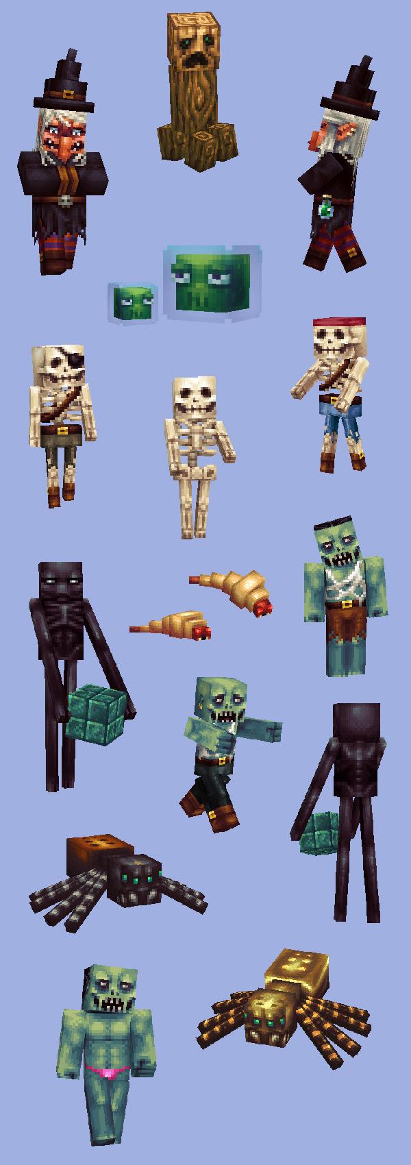 Texture Bois Minecraft