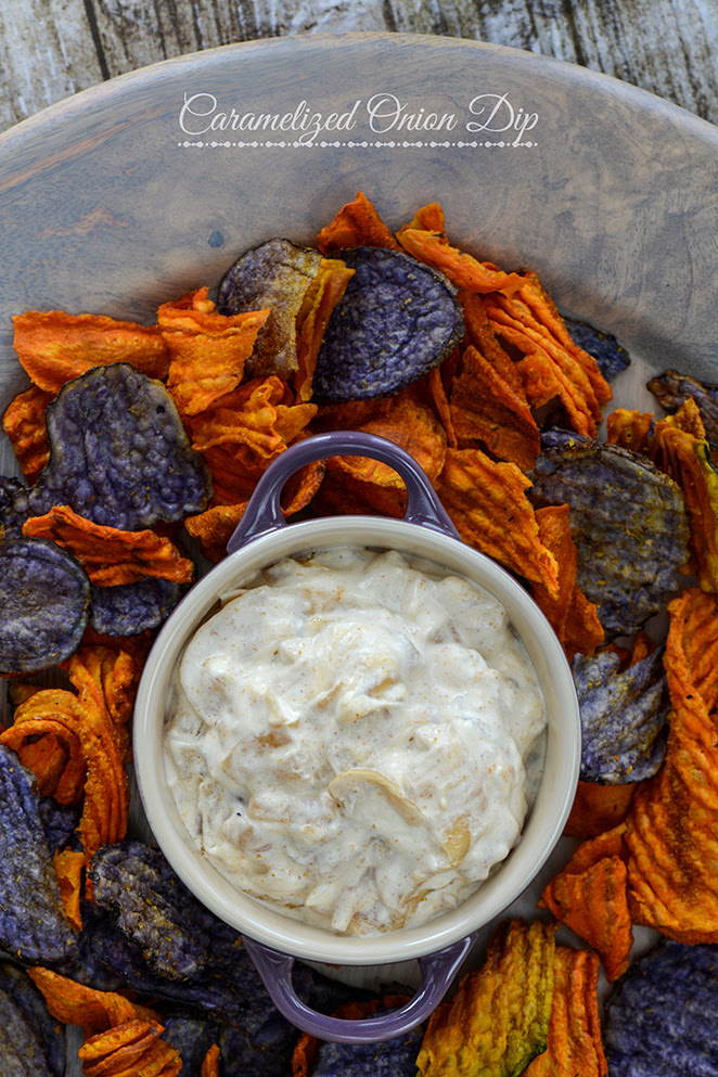 Caramelized Onion Dip | Kailley's Kitchen