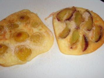 Pfannkuchen : Zwetschgen und Mirabellen Pfannkuchen