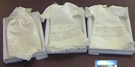 Woman Turns Wedding Dresses Into 'Angel Gowns' For