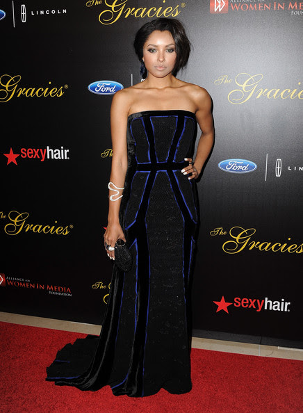 Kat Graham - Arrivals at the 39th Annual Gracie Awards — Part 2