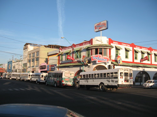 a view of downtown mexicali