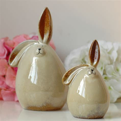 European style white rabbit,ceramic piggy bank money box a