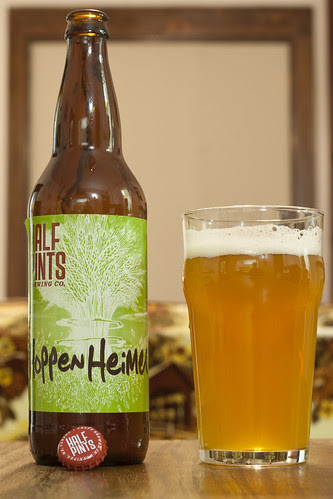 Review: Half Pints' Hoppen Heimer Wheat Ale (2013) by Cody La Bière