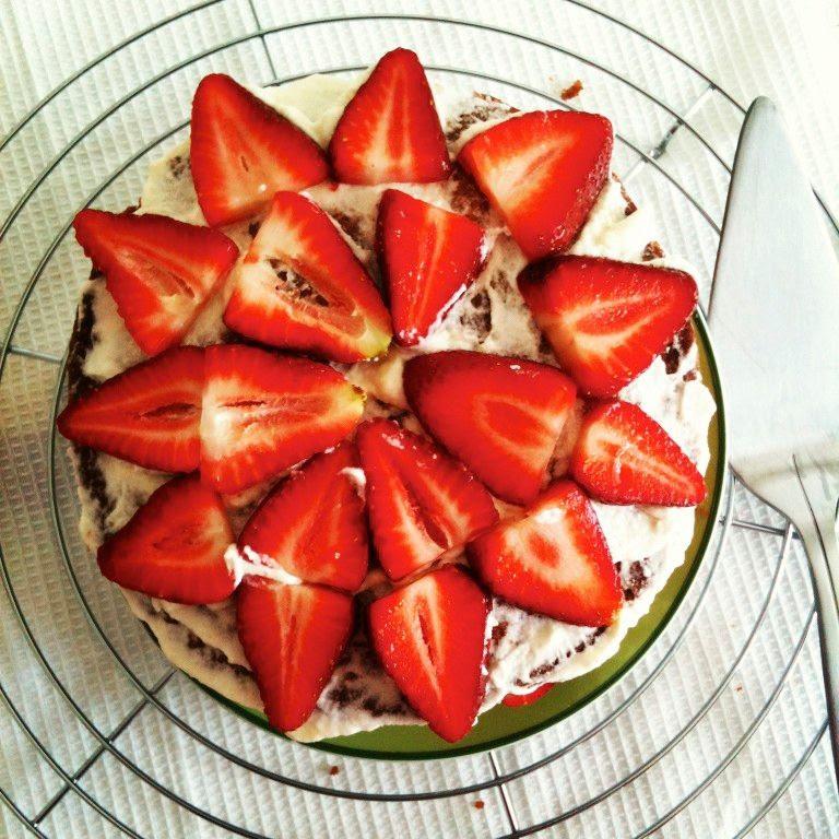 24.04.2, Fruit cake for tea!!