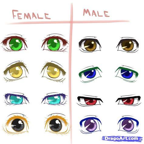 draw  anime eyes step  step anime eyes