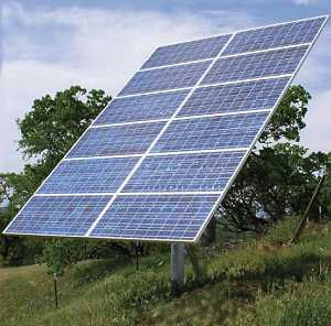 Residential Solar Tracking Systems Dual-Axis Solar Trackers Array