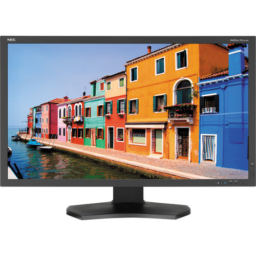 "NEC PA322UHD-BK 32"" Widescreen LED Backlit Color Accurate IPS Monitor"