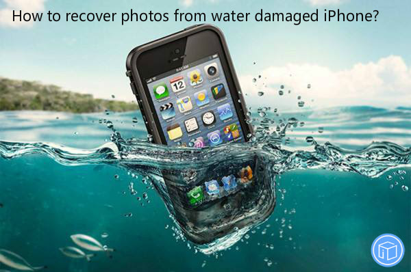 How to recover photos from water damaged iPhone?