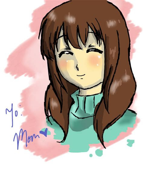 happy birthday mom  anime speedpaint drawing