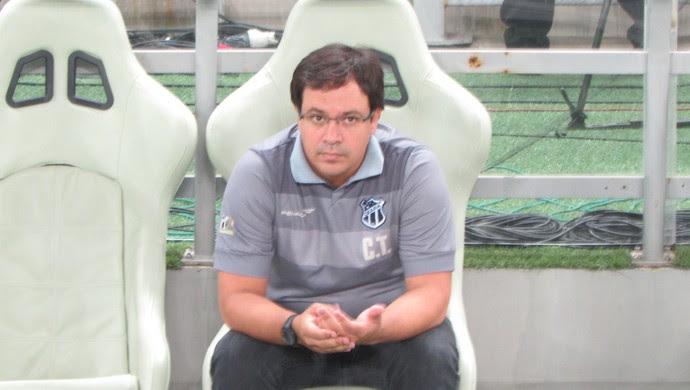 Dado Cavalcanti, Ceará, técnico (Foto: Juscelino Filho)
