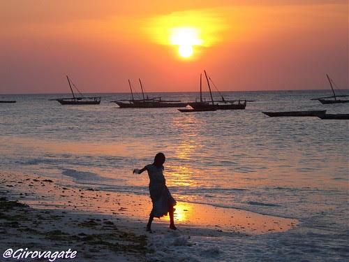 Zanzibar tramonto