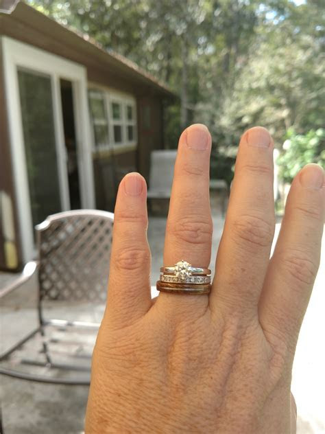 Wedding bands that DON'T match your engagement ring   Page