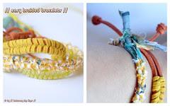 Easy braided bracelets