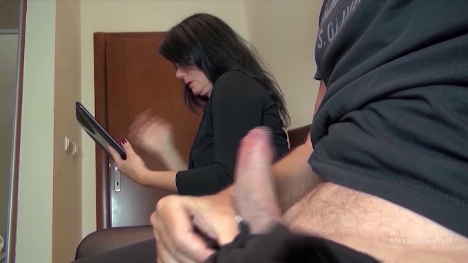 He Pulled out His Giant Cock in the Waiting Room: Porn 9f | xHamster