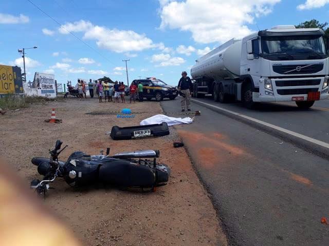 Acidente grave com vítima fatal na BR 406 em João Câmara
