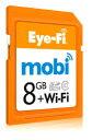 【facebookいいね!でポイント5倍!!】【当店限定!ポイント2倍UP祭!!】[メール便160円発送選択可...アイファイ モビ X2 8GB EFJ-MO-8G スマートフォンと簡単接続機能搭載!EFJ-MO-08『即納〜2営業日...