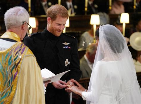 See a Close Up of Prince Harry and Meghan Markle's Wedding