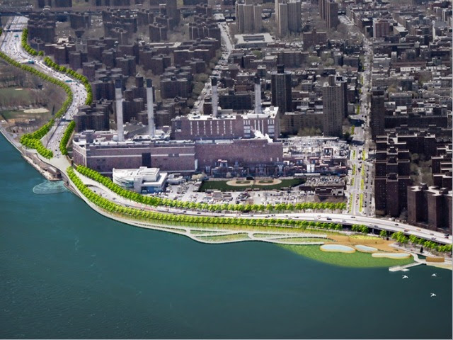 <p>The new plan will help protect the waterfront from future flood damage.</p> <p> </p>