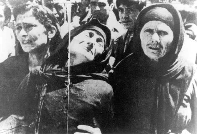 Αποτέλεσμα εικόνας για σφαγή στο Δίστομο