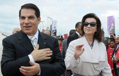 الجيش التونسي خير بن علي بين الرؙ?ل والمغادرة أو الإطاؘ? والقتل