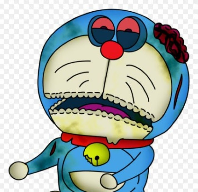 Spesial 49 Gambar Grafiti Doraemon Zombie