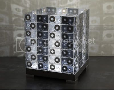 Cassette Tapes Lamp 2
