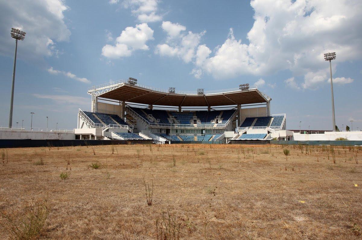Πρώην στάδιο softball, νυν αγρός για Mewoth και Rattata