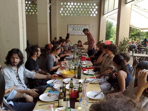 Il pranzo finale di Ecoismi 2012 by durishti