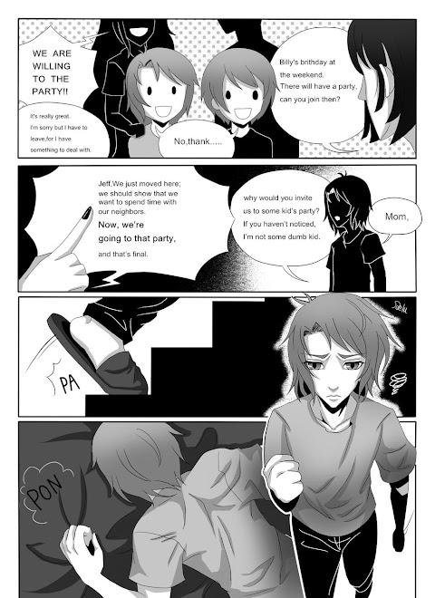Jeff The Killer Story Comic