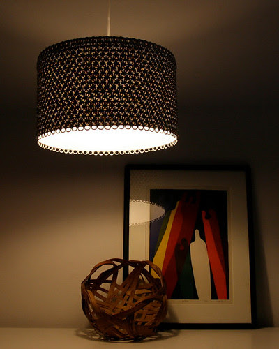Soda Can Tab Lampshade