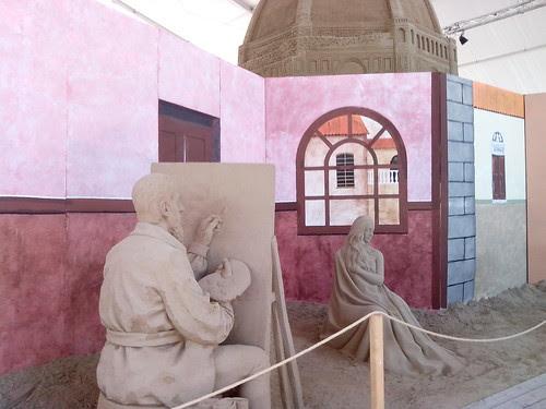Scena di sculture di sabbia a Jesolo by Ylbert Durishti