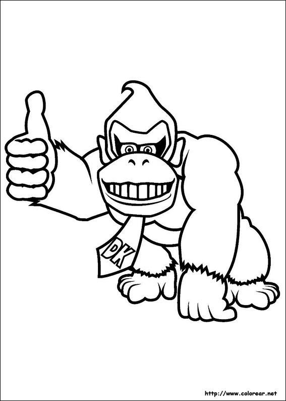 Dibujos De Super Mario Bros Para Colorear En Colorearnet
