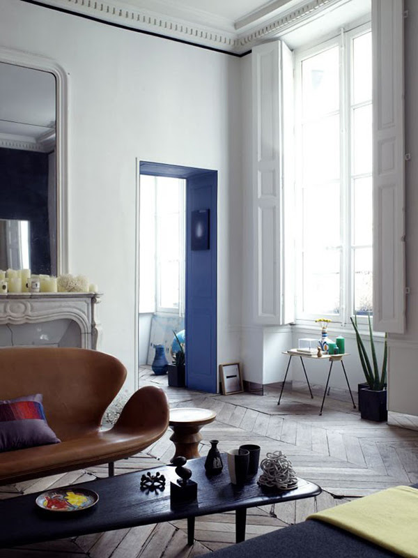 Stylish, most elegant and colorful apartment In Paris