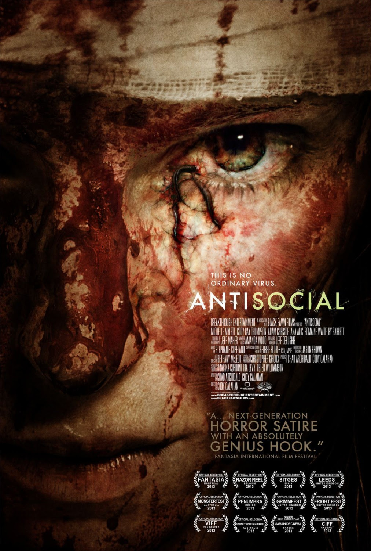 Risultati immagini per antisocial movie poster