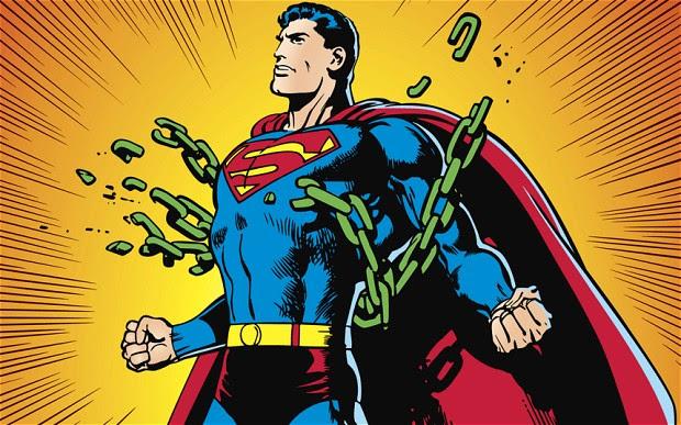 Superman! O melhor exemplo deste conceito de HEROI!