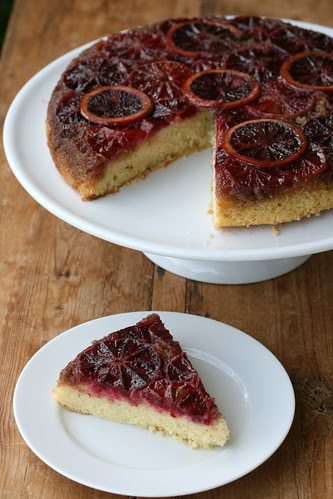Blood Orange and Cardamom Upside-Down Cake