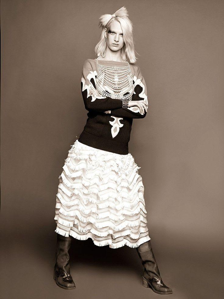 Lookbook Metiers D'Art 2013-14 Paris-Dallas de Chanel