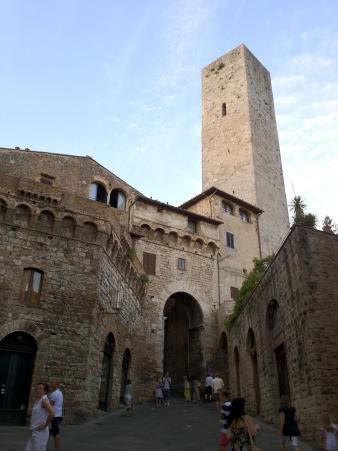 San Gimignano Kuleler...