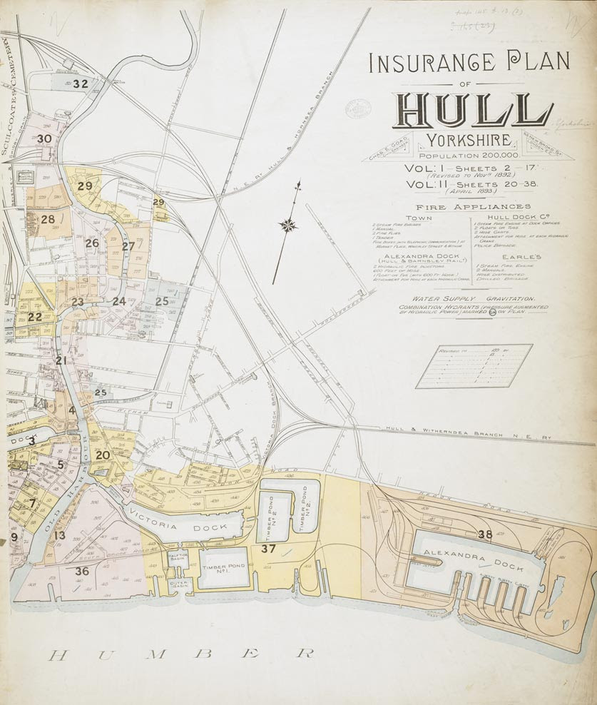 Insurance Plan of Hull (Yorkshire) Vol. I and II
