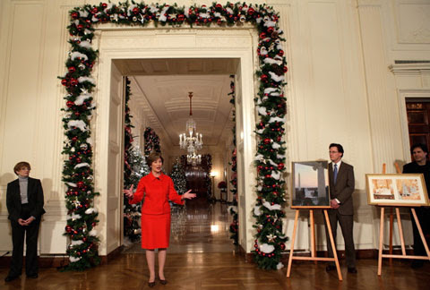 White House Christmas Decorating Ideas