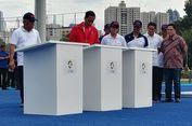 Tampil Sporty, Jokowi Resmikan Sejumlah Venue di GBK