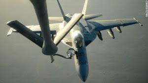 תדלוק אווירי אחרי הפצצה בסוריה
