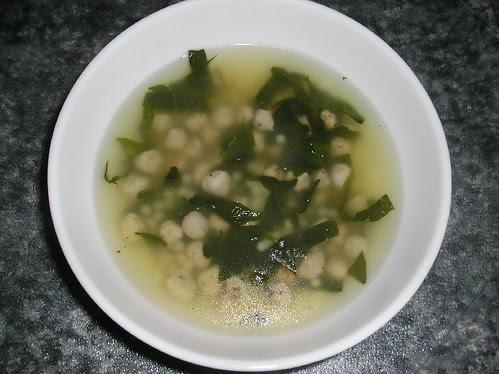 Soupe Noce à l'italienne