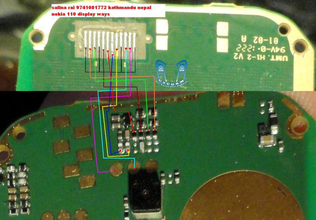 Nokia 114 light solution Lcd Display Light Problem Jumper Ways
