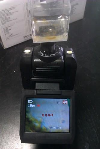 行車記錄器顯微鏡+小小水族箱